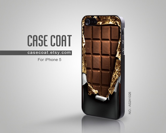 iPhone 5 Case - Food, Chocolate Bar, Cool iPhone Case, Case for iPhone - A02A1026 www.facebook.com/...