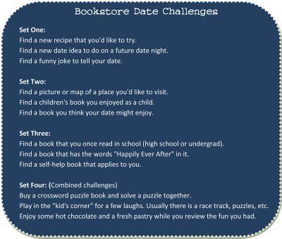 Bookstore Date Idea.
