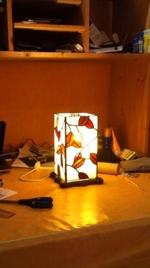 Première lampe tiffa