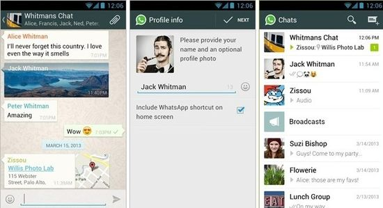 WhatsApp has announces its new service voice messaging - Phones Review