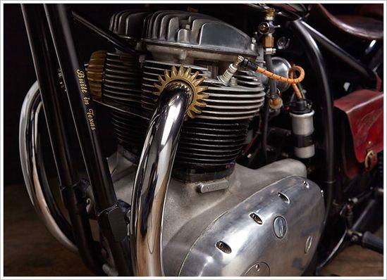 '69 BSA Firebird -'Agnes' - Pipeburn - Purveyors of Classic Motorcycles, Cafe Racers & Custom motorbikes