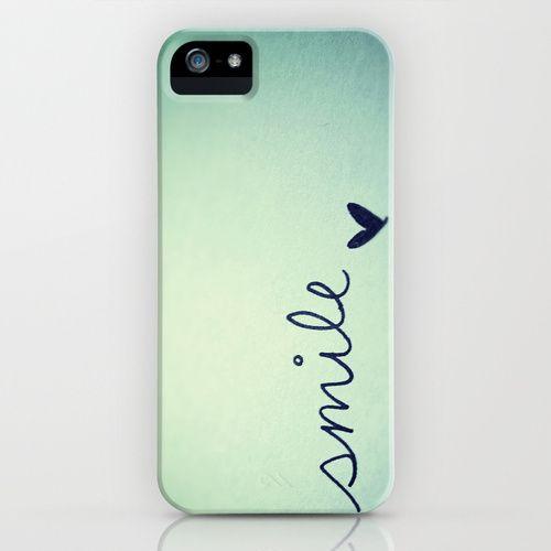 s  m  i  l  e  iPhone Case