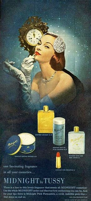 #makeup #ads #vintage #1950s #fifties #elegant #cosmetics #glamour #fashion