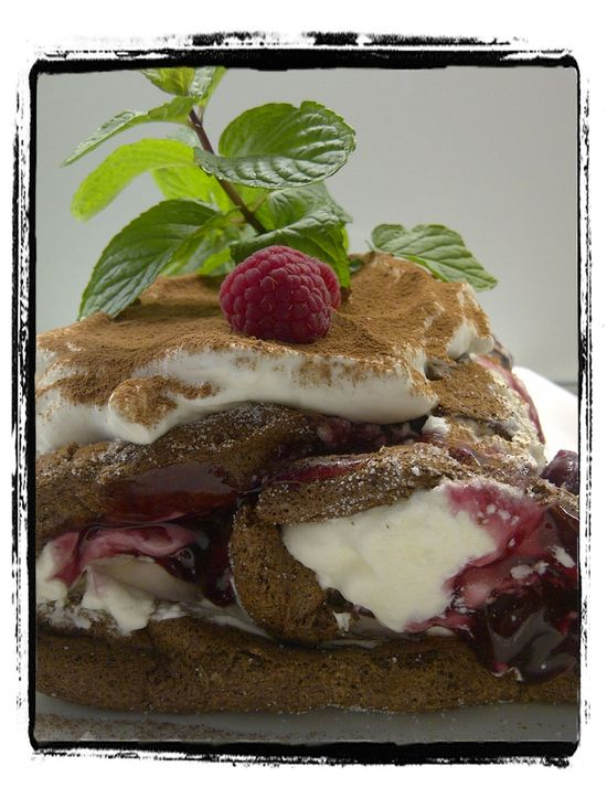Black Forest Rolly Polly Cake