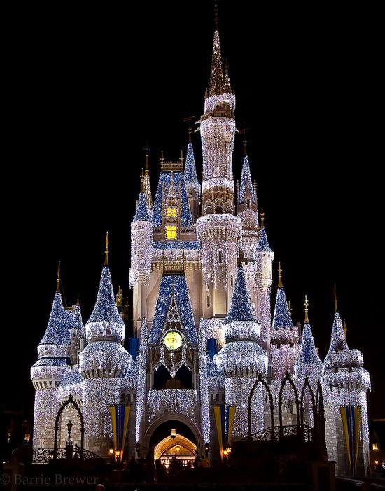 Dream Lights on Cinderella Castle! Just amazing.