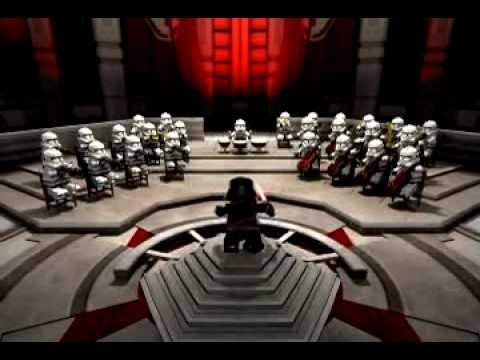 Lego - Star Wars Theme-  Fun to show for instruments being played.