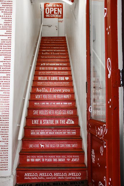 stair messaging