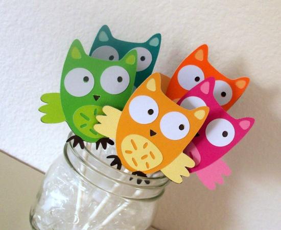 Owl Party Decor