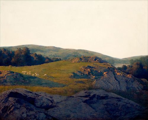 Maxfield Parrish Landscape