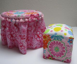 American Girl - do it yourself furniture. Great website!!
