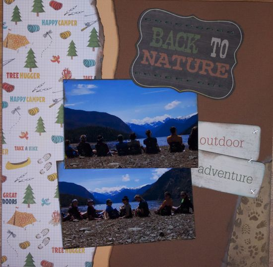 Back to Nature - Scrapbook.com