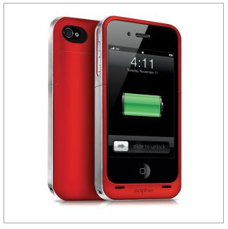 Mophie charging case for Project (RED) - this is our new favorite travel must-have. Never run out of batteries!