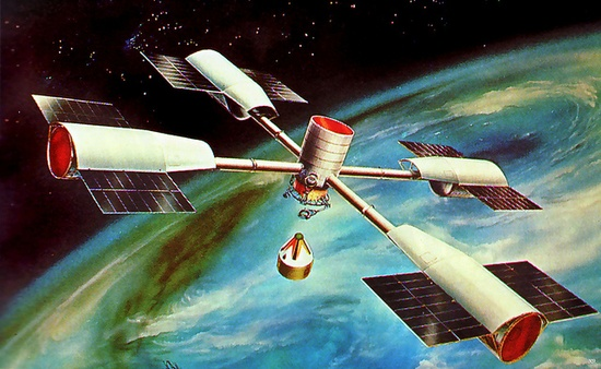 1965 ... space station proposal, via Flickr.