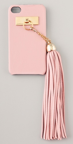 Pink + Gold // Jagger Edge Hang Fire iPhone 4 Cover