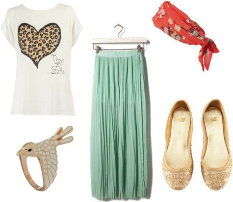 outfit w/ skirt