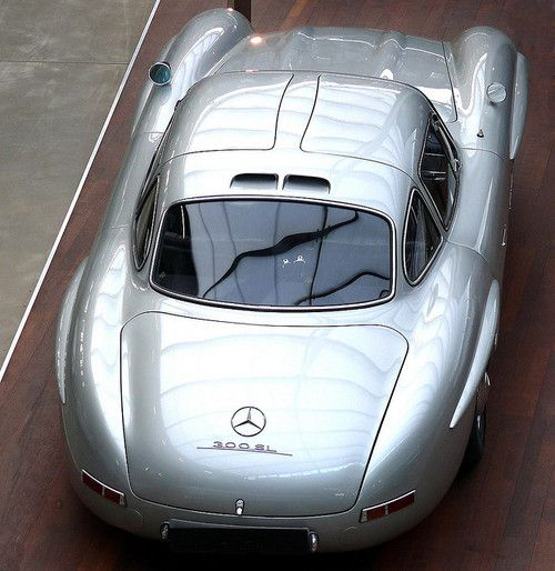 I love this car--300SL