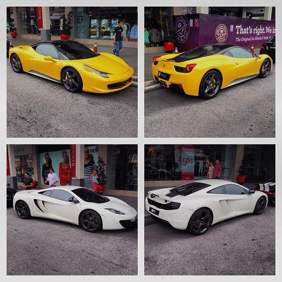 McLaren Vs Ferrari The Ferrari 458 for me!