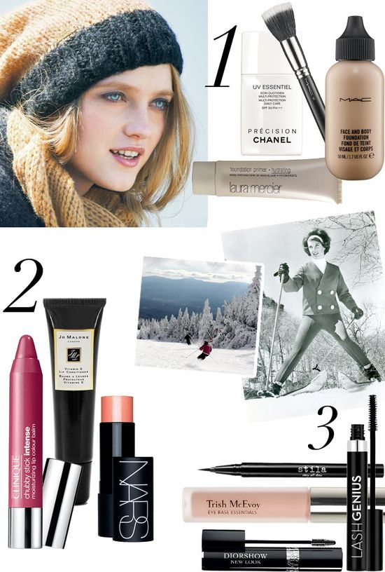 Ski-Bunny Beauty: Ski-Slope Essentials #Nordstrom #Beauty