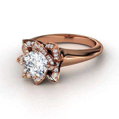 Diamond Rose Ring