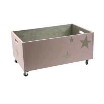Toy box Stars Rose