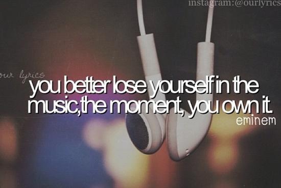 Lose Yourself // Eminem