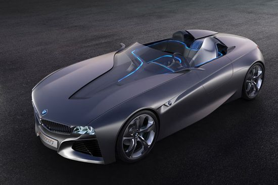 Concept car by BMW- Connected Drive Vision.  What do you think?