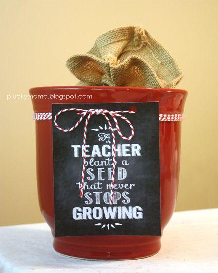 Teacher Gift Printable FREEBIE!