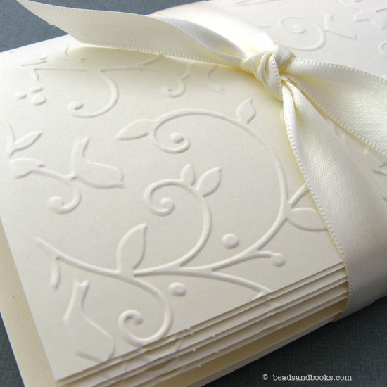 Handmade Cards - Set of 8 Embossed Woodland Cards with Envelopes. $8.00, via Etsy.