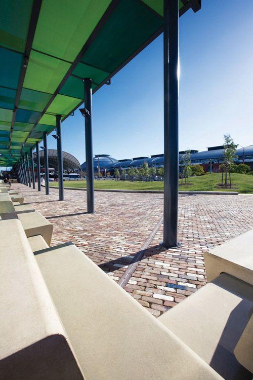 JacarandaSq_seating_by_SimonWood « Landscape Architecture Works