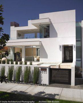 Coronado Home - contemporary - exterior - san diego - bill bocken architecture & interior design