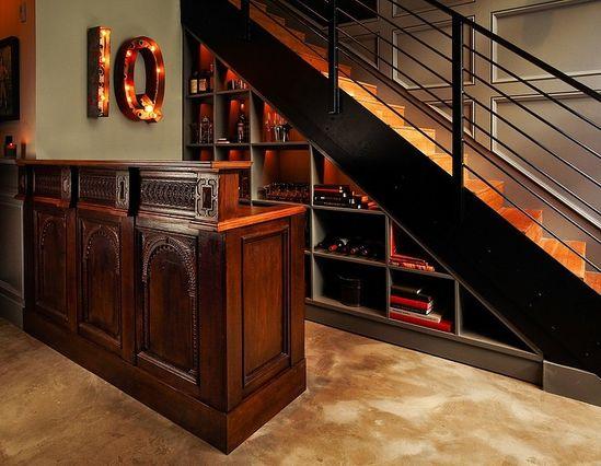 Industrial Retro Interior Design   hand railing nice!!!!!
