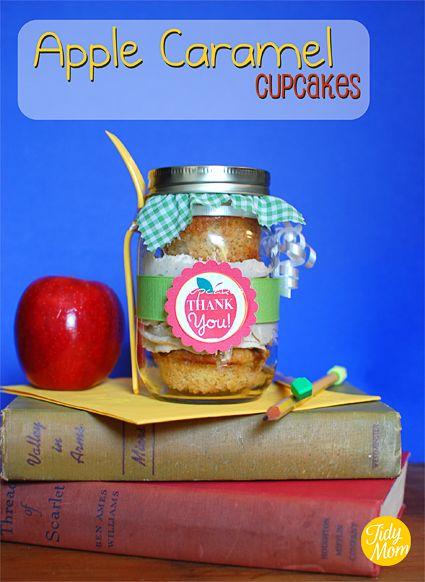 Cupcakes in a jar.