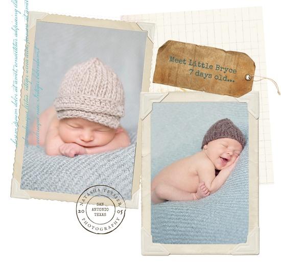Love newborn smiles...