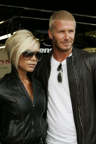 My #2 favorite celebrity couple - Victoria and David Beckham