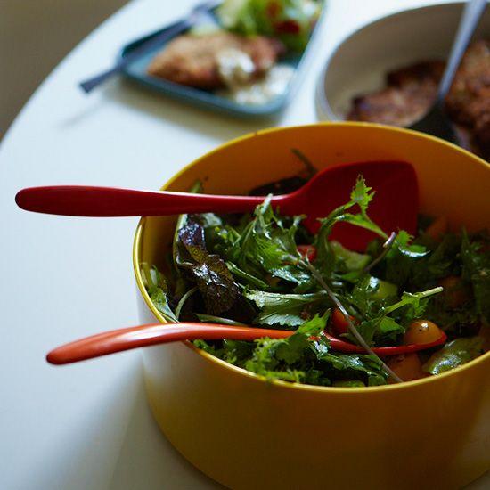 Thanksgiving Green Salads on Food & Wine