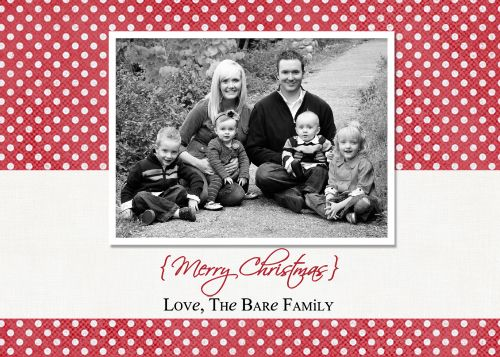 Five FREE digi Christmas card templates from @Jamie Bare of @The Crafting Chicks