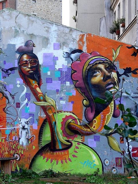 By Cern, Paris graffiti