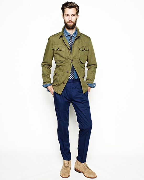 Fall Men's Fashion - Love it!  jcrew-spring-summer-2013-4