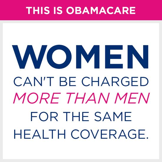 Share and like this post if you're happy #Obamacare ends health care discrimination against women