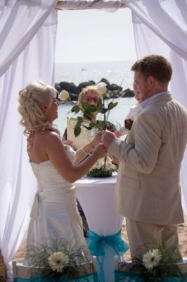Beautiful Beach Wedding  (107)