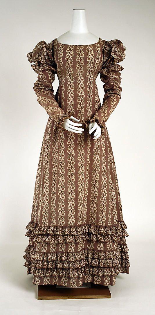 Dress American ca. 1818