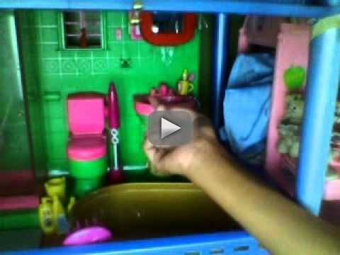 barbie ultimate house handmade - this is my doll house with swimming