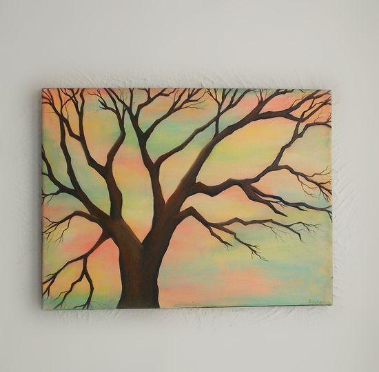 Scherer tree painting