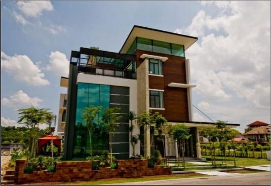 Modern home design by Arkitek Axis