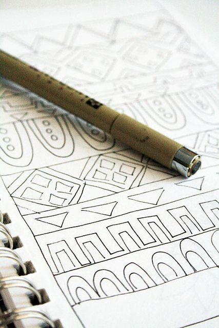 beginning doodle