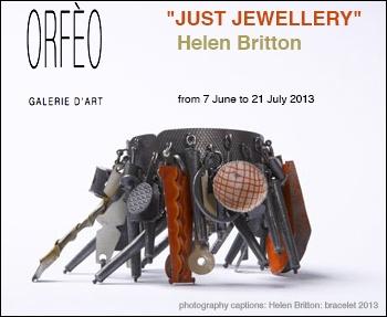 Orfeo - Helen Britton - 7 juin-21 juill 2013