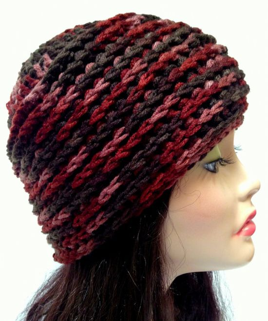 Unisex Crochet Beanie. Multicolored Hat. Casual Hat by Africancrab, $10.00