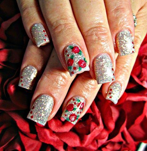 Abstract Roses - nailartgallery.na... - Nail Art Gallery by NAILS Magazine