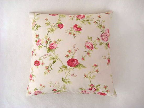 Shabby Chic Home  Linen Cream Pillow Covers with by MyDreamHome, $16.00