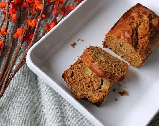 Whole Nourishment: 5-Spice Roasted Pear Bread :: Whole Nourishment